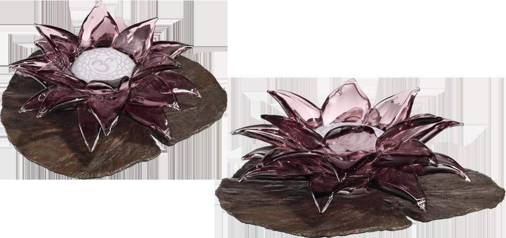 Lotus Flower Spiritual Glass Art